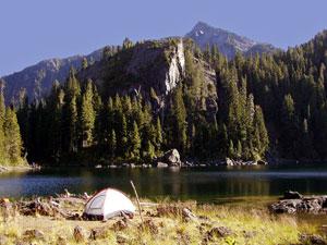 First Lake Camping